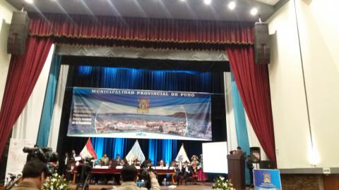 La MCLCP asistió a la sesión descentralizada de la Comisión de Presupuesto y Cuenta General de la República