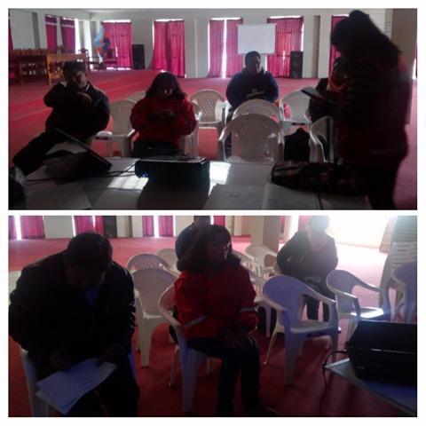 MCLCP provincial de  Huancane  se reune  para trabajar  el reporte de Anemia