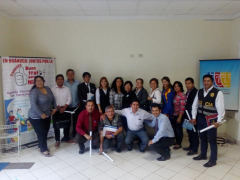 Reunión Ordinaria Comité Ejecutivo Regional de la MCLCP Huánuco.