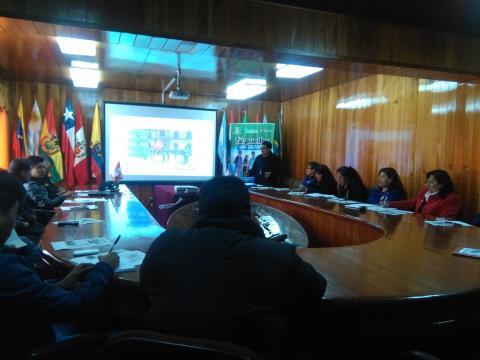 MCLCP participa en la presentación de diagnóstico sobre el consumo de drogas y bebidas alcoholicas