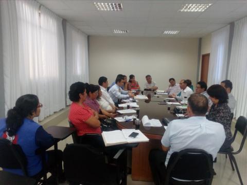 Reunión entre el Colectivo Impulsor Post CVR y Gobierno Regional