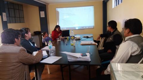 MCLCP participa en reunión de organización del II Festival por la Primera Infancia del distrito de Paucarcolla