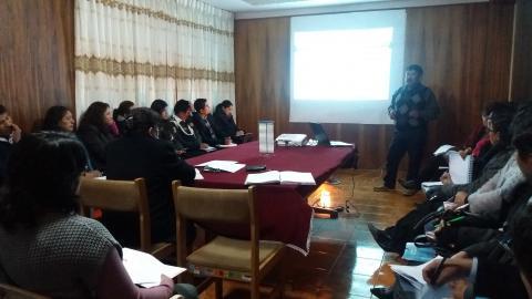 MCLCP aprobó el reporte sobre empleabilidad en personas con discapacidad de la Región Puno