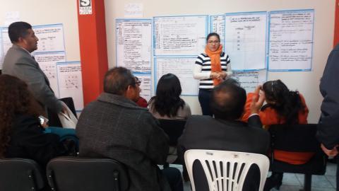 MCLCP participa en taller de elaboración del Plan Regional contra la Trata de Personas