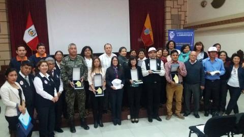 Participación en Premio Regional por la Paz-2017, organizado por la Gerencia Regional de Programas Sociales