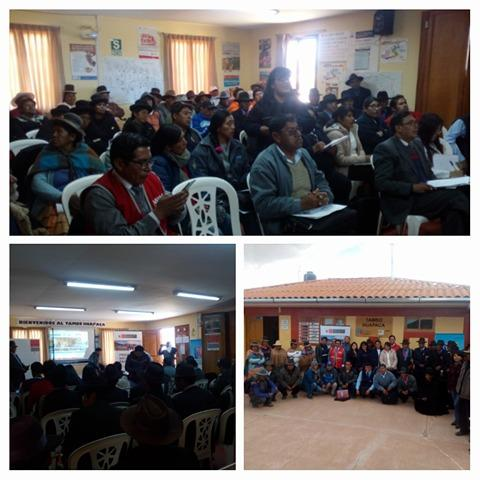 Consejo de Concertacion de la MCLCP de la provincia de Chucuito Juli, realiza el análisis y avances del Acuerdo de Gobernabilidad 2015 -2018 en la dimensión social que comprende Salud, educación y poblaciones vulnerables.
