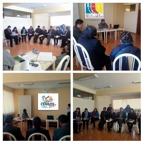 La MCLCP de la provincia de San Roman apoya la difusión de los Censos Nacionales 2017: XII de Población, VII de Vivienda y III de Comunidades Indígenas.