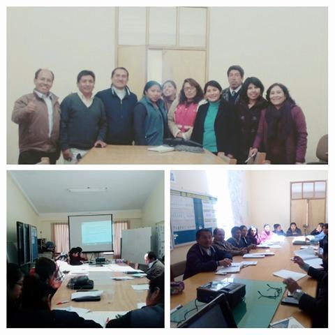 MCLCP de la provincia de Azangaro elabora el reporte de anemia y mortalidad materna