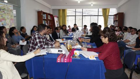 Octava Reunión del Comité Ejecutivo Regional de la MCLCP Apurímac