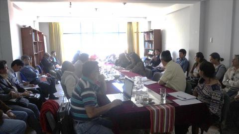 Novena Reunión del Comité Ejecutivo Regional de la MCLCP- Apurímac
