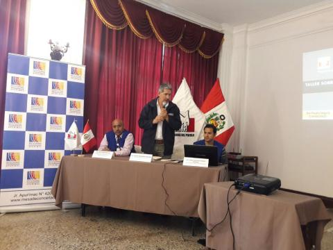 MCLCP Apurímac en conjunto con la Defensoría del Pueblo organizan Seminario taller de Educación ciudadana sobre la Corrupción
