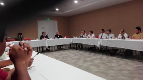 Presentación de propuesta de veedurìa ciudadana en el proceso de reconstrucción.