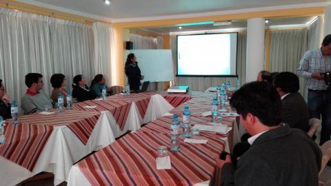 Mesa temática  de agua y saneamiento de la MCLCP presentó avances en el trabajo de agua y saneamiento a empresarios