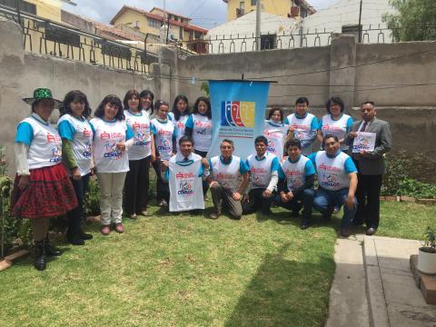 Comité Ejecutivo Regional de la MCLCP Cusco apoya  el Censo Nacional 2017.