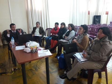 MCLCP Apurímac participó en reunión de información de antecedentes del Observatorio Mujer en Apurímac