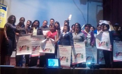 MCLCP Apurímac participó en el primer Encuentro Regional de DEMUNAS e instituciones que velan por los derechos del niño, niña y adolescente.