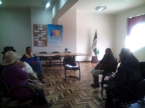 MCLCP fortalece a actores en la provincia de Melgar
