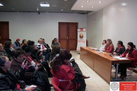Presentación del Observatorio de los Derechos de la Niñez realizado por el COMUDENNA Cusco y la MCLCP