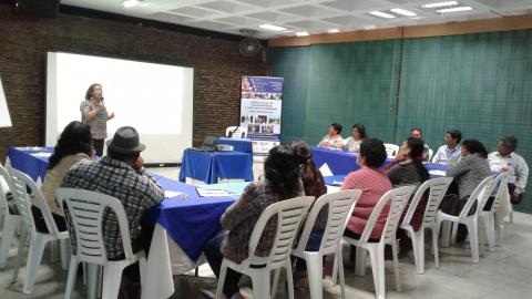 Participación de la MCLCP-Ica en el Encuentro Regional de los CTVC
