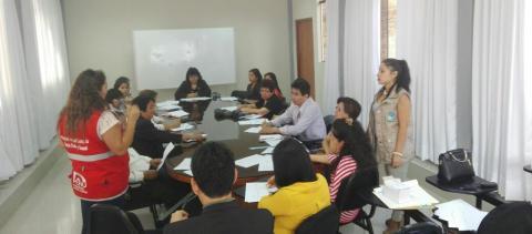 Reunión de coordinación de actividades por el día internacional de la no violencia hacia la Mujer.