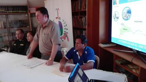 Conformación de Comité Ejecutivo Distrital en Villa Rica de la MCLCP