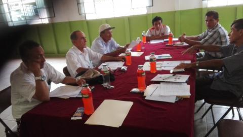 Conformación del comité local de veedurìa de la reconstrucciòn en el Distrito de Zorritos.