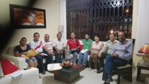 Conformación del comité local de veedurìa de la reconstrucción en el Distrito de San Juan de la Virgen