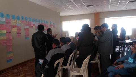 MCLCP participa en taller de análisis participativo y construcción de matriz estratégica del Plan de Infancia
