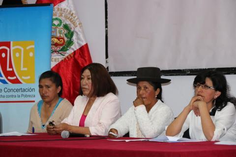Foro Regional  sobre la Agenda de la Mujer Ayacuchana