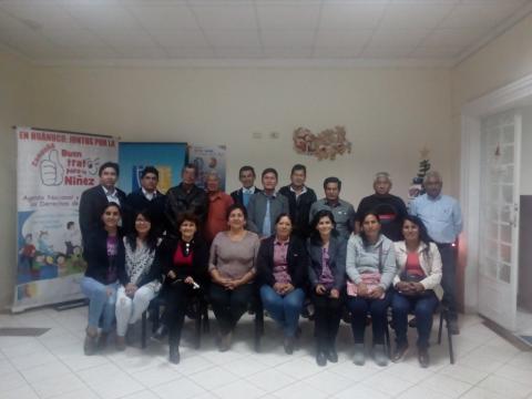 Reunión Colectivo Impulsor Post CVR con el Consejo de Administración de la Cooperativa Agraria de Producción Quicacan.