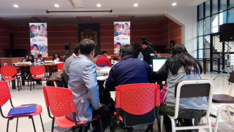 MCLCP participa en la veeduria de Qali Warma del proceso de selección 2018-I