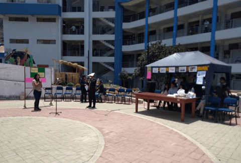 Mesa de Concertación de Apurímac  participa en Feria informativa  contra la corrupción  organizada por la UNAMBA