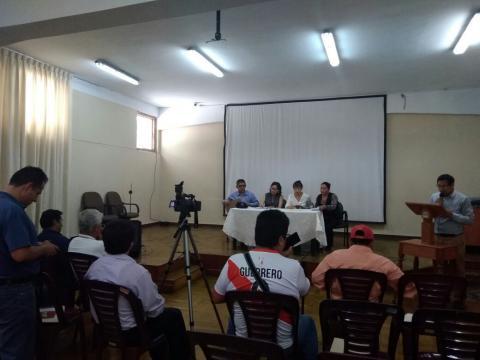 """En conferencia de prensa anuncian actividades por el """"Día Internacional de la No Violencia Contra la Mujer"""""""