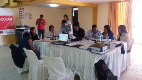 MCLCP de Huánuco participa activamente en el Proceso de compra N° 001-2018 del Comité de Compra Hco 1 - Raciones (Segunda convocatoria).
