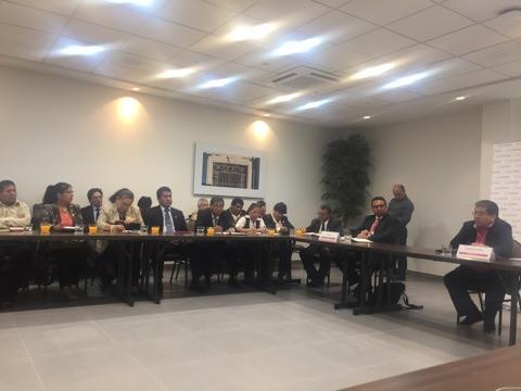 Contralor General de la República se reunió con representantes de la sociedad civil de la región Moquegua