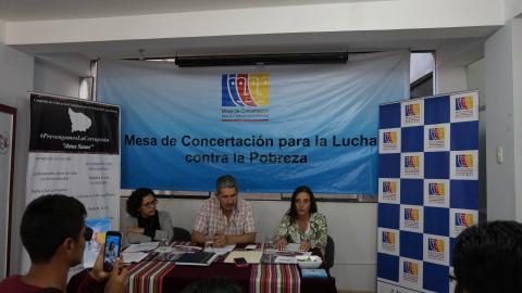 Lucha contra la violencia hacia la mujer, educación ciudadana para la prevención de la corrupción acciones más destacadas de la MCLCP Apurímac