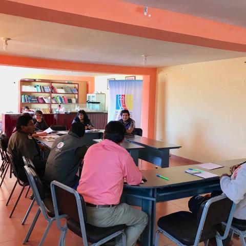 Sesión ordinaria MCLCP de la Provincia de Condesuyos