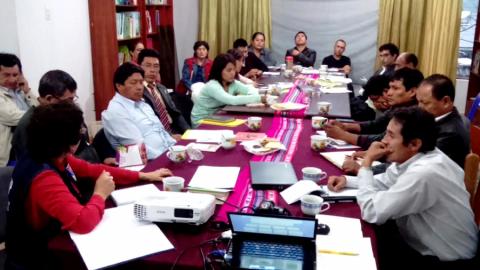 Consejo Regional de la Mujer evaluó el  Plan de acción del 2017