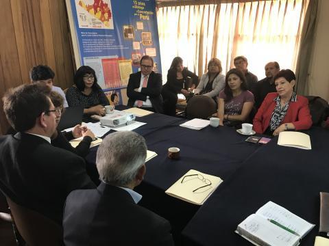Designación de la coordinadora regional de la MCLCP de Arequipa periodo 2018 - 2019