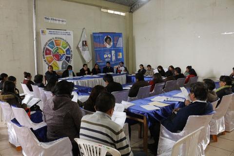 Mesa de Junín presenta reporte de seguimiento a violencia familiar en la región