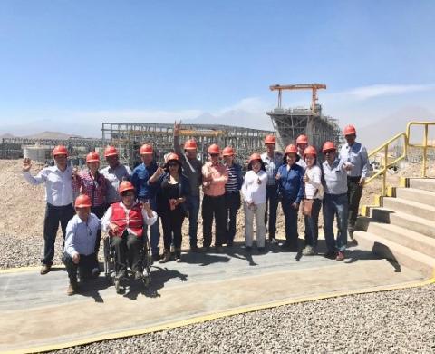 Visita guiada a instalaciones de la Minera Cerro Verde