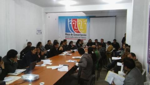 Primera reunión del Pleno de la Mclcp de Amazonas