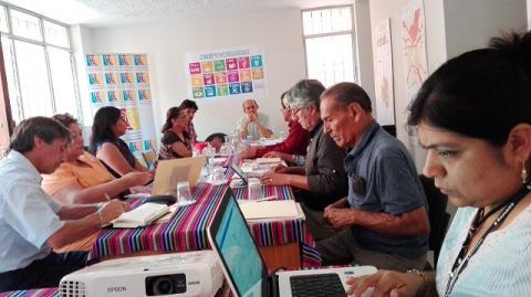 MCLCP-Lambayeque se reunió con SUNASS para dialogar sobre la calidad de agua y el servicio de saneamiento en la región Lambayeque.