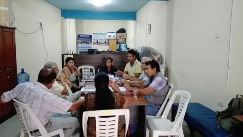 Reunión de Coordinación de acciones de veeduría del buen inicio del año escolar.