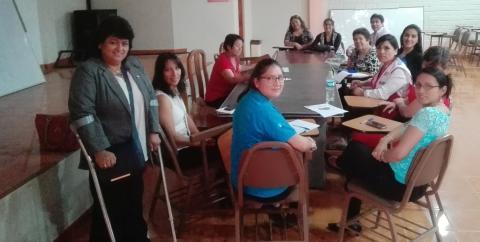 Reunión de coordinación del Consejo Regional de la Mujer.