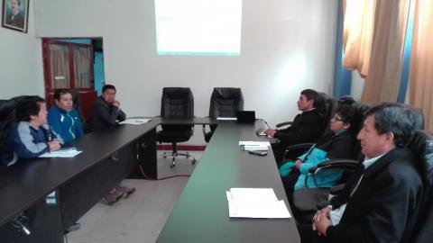 I Reunión del CEP Daniel Carrión de la MCLCP - 2018