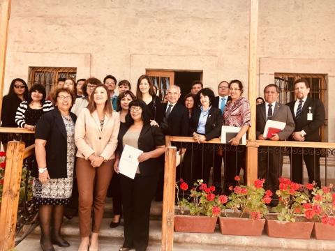 Comité Ejecutivo Regional de la MCLCP Arequipa fue instalado con participación de gobernadora Yamila Osorio