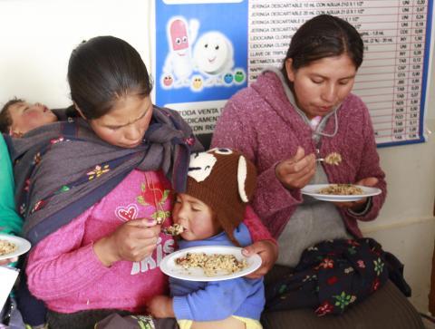 Nuevo reporte de seguimiento concertado al Programa Articulado Nutricional
