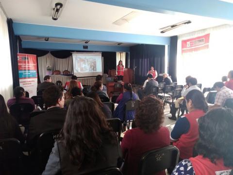 Centro de Emergencia Mujer de Abancay Socializo cifras de atención de violencia hacia a la mujer en la Provincia de Abancay durante el 2017