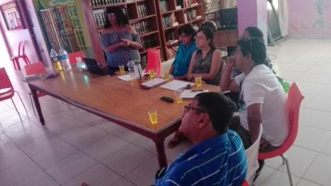Sesión del CEP de Camaná